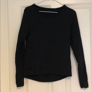 Black Lululemon Long Sleeve Sz 2